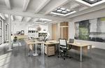 здрави офис мебели по поръчка с красив дизайн