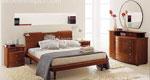 Модел на спалня по поръчка с нестандартно решение за дизайн на скрина
