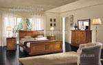 Спалня по поръчка с инкрустирани панделки