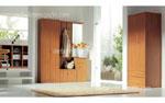 Обзавеждане за спалня по поръчка - нестандартен дизайн, заимстван от изгледа на фоайето