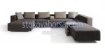 големи ъглови дизайнерски дивани