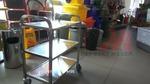 Метални колички за заведението