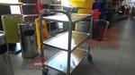Широко приложими професионални метални колички за заведения